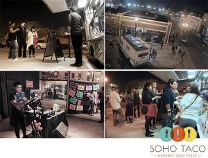 SoHo Taco Gourmet Taco Truck - OCCCA - OC Center For Contemporary Art - Noche de Altares - Art Walk - Dia De Los Muertos - Orange County CA