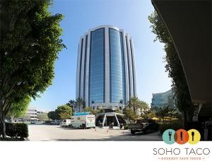 SoHo Taco Gourmet Taco Truck - Von Karman Airport Tower - Irvine - Orange County - OC