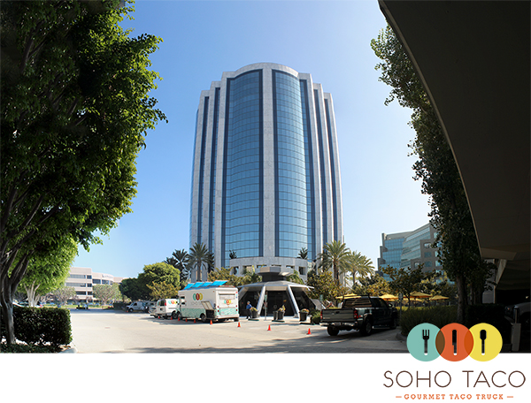 SoHo Taco Gourmet Taco Truck - Von Karman Airport Tower - Irvine - Orange County - OC