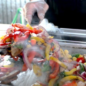 SoHo Taco Gourmet Taco Catering - Los Angeles - Orange County - Veggie Tacos - Grilling featured