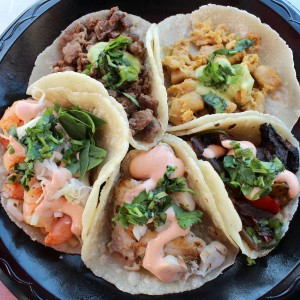 SoHo Taco Gourmet Taco Catering - Premier Package - Wheel of Tacos - Orange County CA
