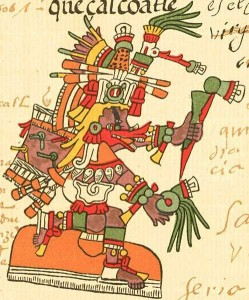 Quetzalcoatl: Aztec god of the dawn & renewal