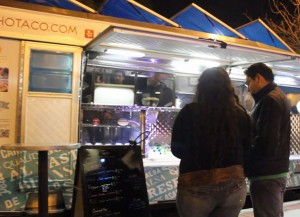 SoHo Taco Gourmet Taco Truck - Santa Ana Art Walk - Orange County Center for Contemporary Art - OCCCA