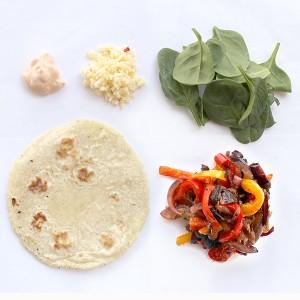 SoHo Taco Gourmet Taco Truck - Veggie Tacos - Vegetales - Orange County - OC