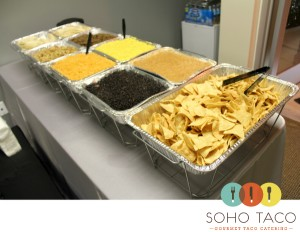 SoHo Taco Gourmet Taco Catering - Irvine - Drop Off - Invisible Touch