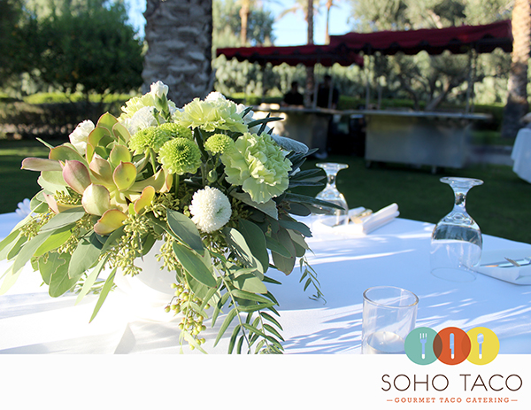 Taco Catering For A Pristine Wedding At The Cree Estate Of