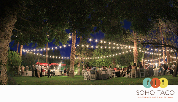 SoHo Taco Gourmet Taco Catering - Cree Estate - Palm Springs - Cathedral City - Wedding - main