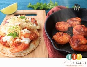SOHO TACO Gourmet Taco Truck - June Special - Camarones Glaseados Al Chipotle - Orange County - OC
