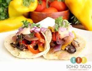 SOHO TACO Gourmet Taco Truck - Veggie Tacos - Rogers Gardens - Orange County - OC