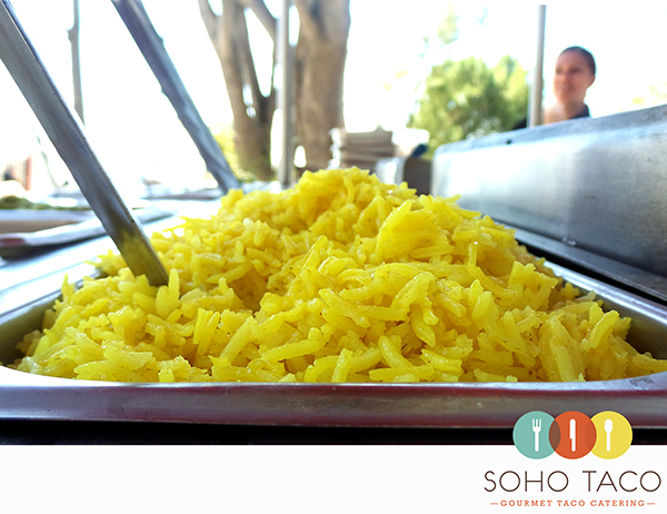 SOHO TACO Gourmet Taco Catering - Rolling Hills Estates - Los Angeles County - LA - Lemon Rice