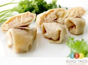 SOHO TACO Gourmet Taco Catering - Mini Bean & Cheese Burrito Appetizers - Orange County - OC