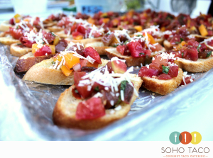 SOHO TACO Gourmet Taco Catering - Orange County - OC - Rebanadas de Tomates Heirloom