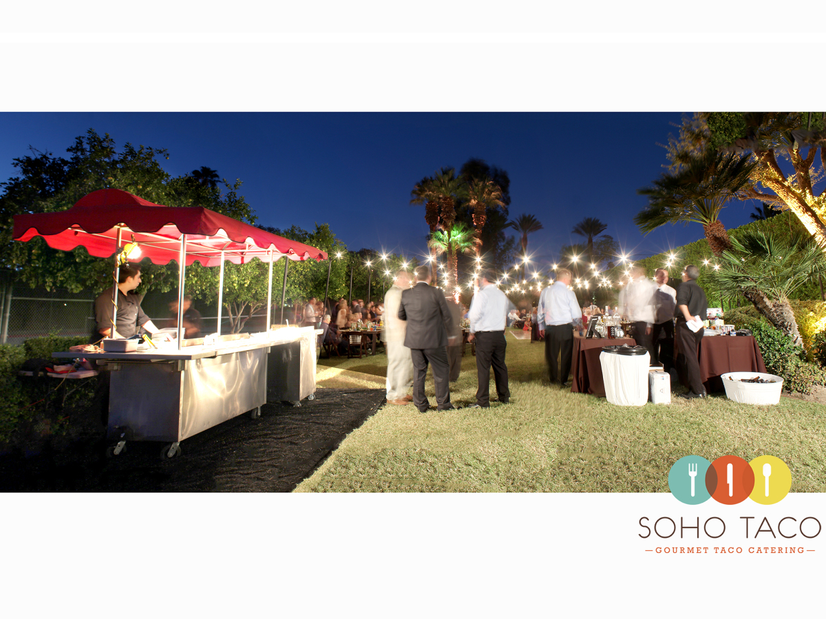 Wedding Catering At The Magical Sand Acres Estate Of Palm