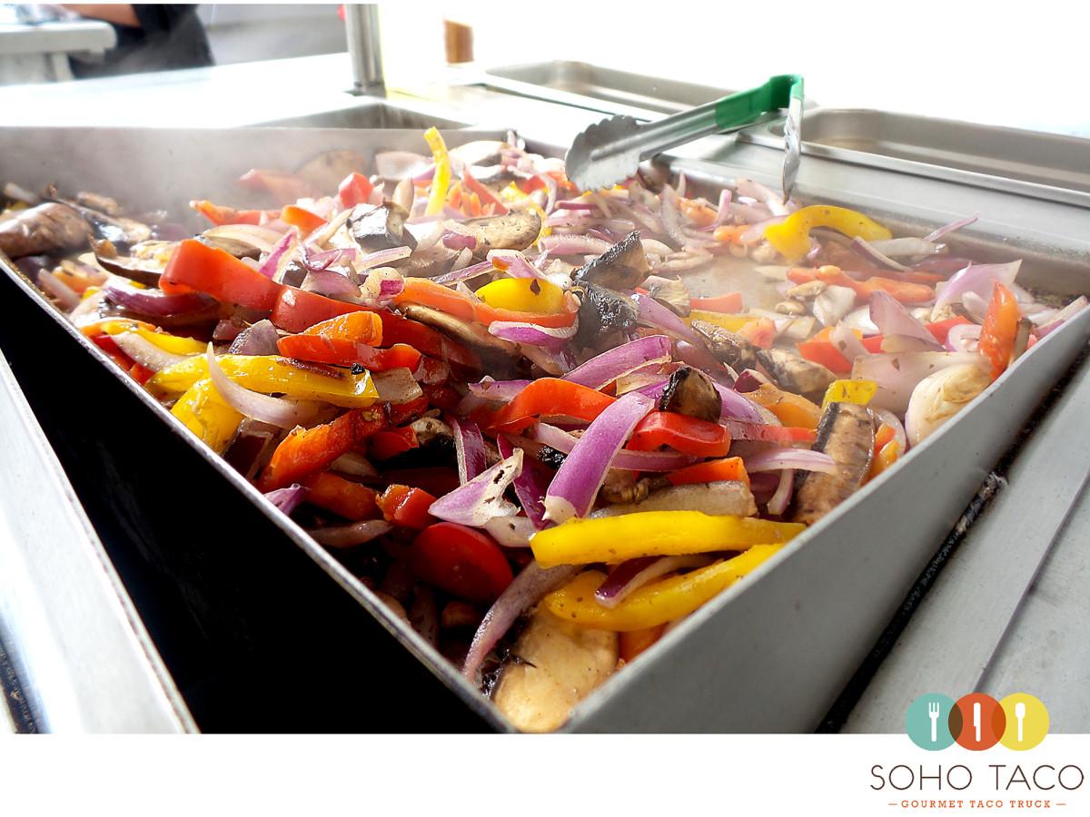 SOHO TACO Gourmet Taco Catering - Los Angeles - LA - Veggie TacosSOHO TACO Gourmet Taco Catering - Los Angeles - LA - Veggie Tacos