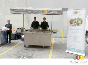 SOHO TACO Gourmet Taco Catering - Los Angeles - Spring Arts TowerSOHO TACO Gourmet Taco Catering - Los Angeles - Spring Arts Tower