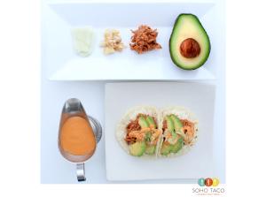 SOHO TACO Gourmet Taco Truck - Chilorio Taco - Los Angeles - Orange County
