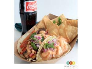 SOHO TACO Gourmet Taco Truck - Combo Plate - Orange County - OC