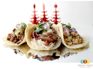 SOHO TACO Gourmet Taco Truck - Orange County - Christmas - Holidays - Trees - Season - Winter