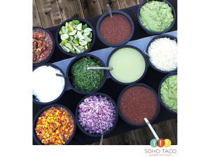 SOHO TACO Gourmet Taco Catering & Food Truck - Condiments & Salsas