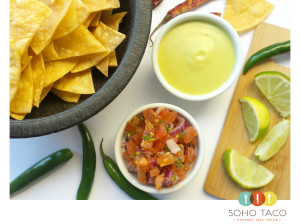SOHO TACO Gourmet Taco Catering - Los Angeles - Chips & Salsa - LA Office