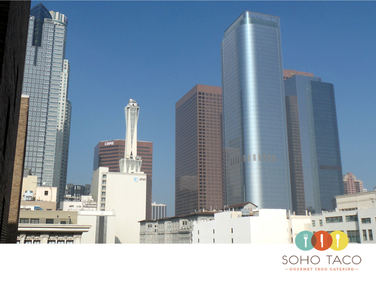 SOHO TACO Gourmet Taco Catering - Los Angeles - View From LA Office