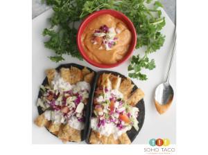 SOHO TACO Gourmet Taco Truck - Calamari Capeado - Chipotle Mayo