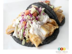 SOHO TACO Gourmet Taco Truck - Taco de Calamar Capeado - Orange County - OC