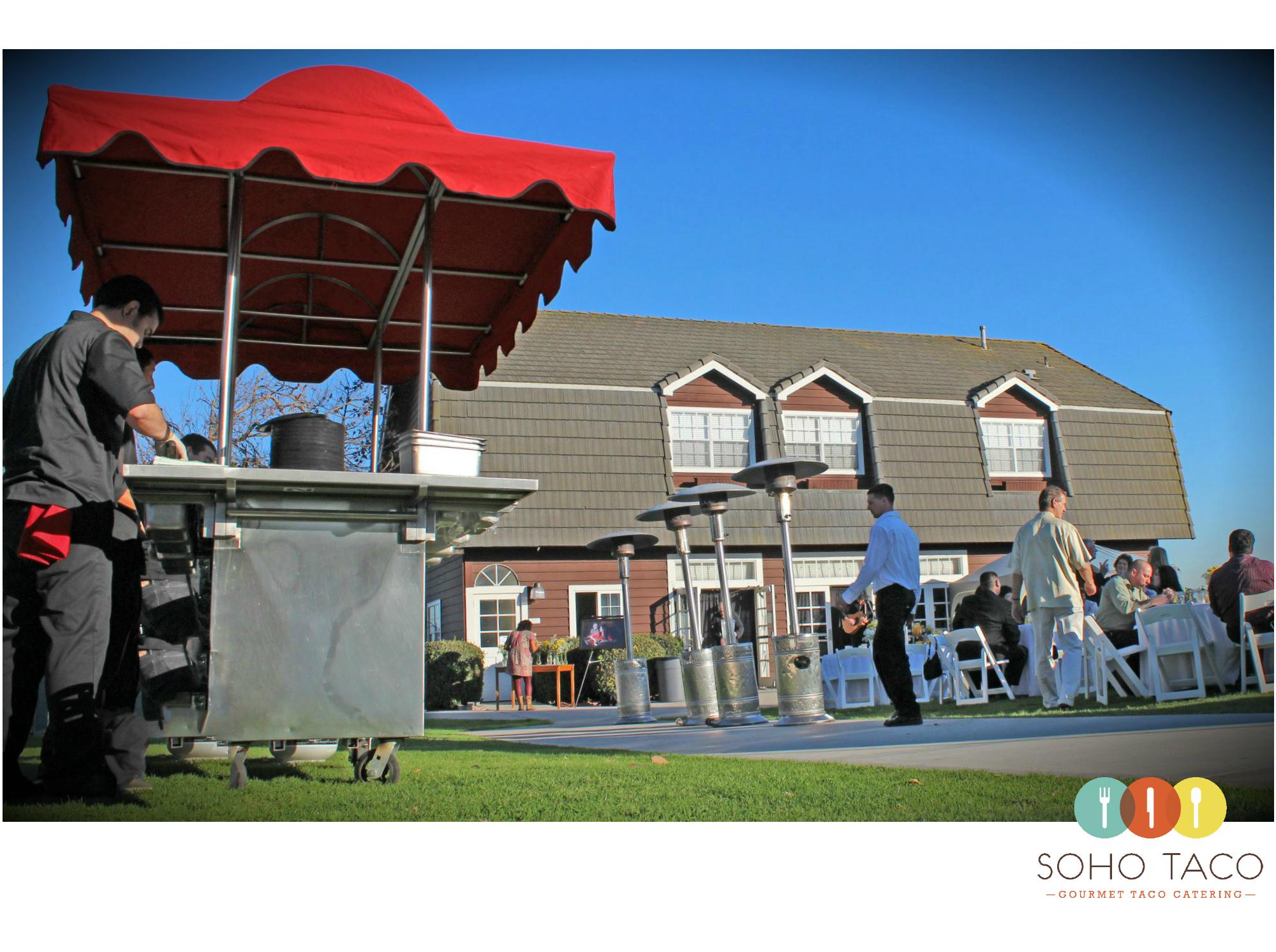 SOHO TACO Gourmet Taco Cart Catering - Newland Barn - Huntington Beach - Orange County OC