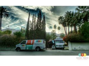 SOHO TACO Gourmet Taco Catering - La Chureya Estate - Palm Springs CA