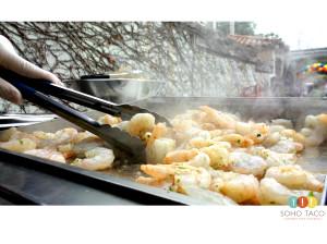 SOHO TACO Gourmet Taco Catering - Los Angeles - LA - Camarones - Shrimp Tac0