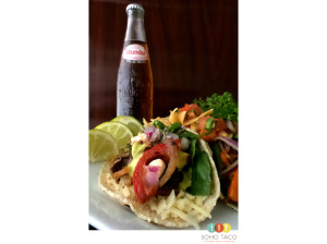 SOHO TACO Gourmet Taco Catering - Los Angeles - Mexican Sodas - Veggie Tacos