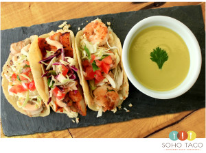 SOHO TACO Gourmet Taco Catering - Los Angeles - Seafood Selection