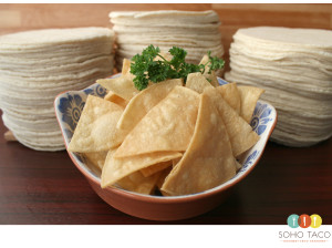 SOHO TACO Gourmet Taco Catering - Tortilla Chips - Los Angeles - LA