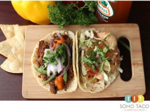 SOHO TACO Gourmet Taco Truck - Taco Combo - Orange County - OC