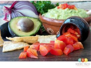 SOHO TACO Gourmet Taco Catering - Los Angeles - Diced Tomatoes