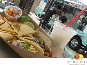 SOHO TACO Gourmet Taco Truck - Horchata - Combo - Roger's Gardens - Corona Del Mar