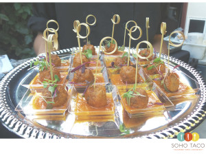 SOHO TACO Gourmet Taco Catering - Laguna Beach - Albondigas - Appetizers - Orange County - OC