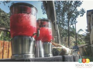 SOHO TACO Gourmet Taco Catering - Los Angeles - Agua Fresca - Sandia - Watermelon
