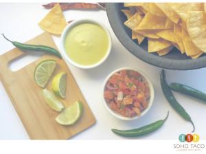 SOHO TACO Gourmet Taco Catering - Los Angeles - Salsa de Jalapeno - Pico de Gallo