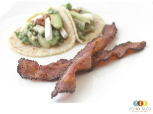 SOHO TACO Gourmet Taco Truck - Taco El Desperado - Bacon - Orange County - OC