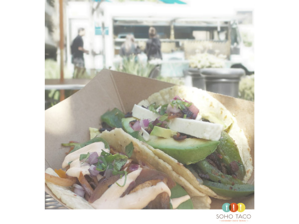 SOHO TACO Gourmet Taco Truck - Veggie - El Desperado - Irvine - Orange County - OC