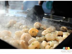 SOHO TACO Gourmet Taco Catering - Tacolandia - Camarones - Shrimp Tacos - Los Angeles CA