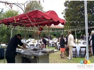 Taco Catering A Long Beach Wedding At Rancho Los Cerritos