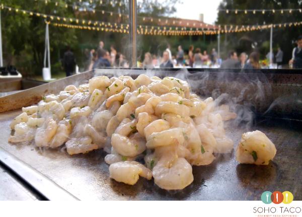 SOHO TACO Gourmet Taco Catering - Long Beach - Rancho Los Cerritos - Camarones
