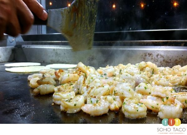 SOHO TACO Gourmet Taco Catering - Palm Springs - Camarones - Shrimp Tacos