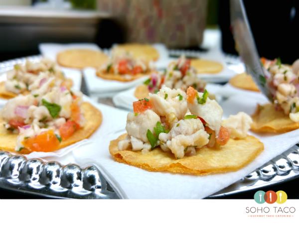 SOHO TACO Gourmet Taco Catering - Rancho Los Cerritos - Long Beach - Bixby Knolls - Wedding Ceviche