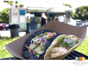 SOHO TACO Gourmet Taco Truck - Chilean Sea Bass - Shrimp - Camarones - Orange County - OC