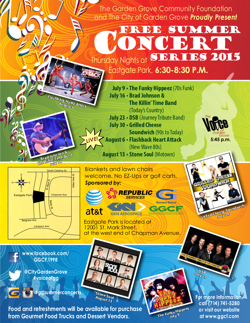 SOHO TACO Gourmet Taco Truck - City of Garden Grove - Summer Concert Series 2015