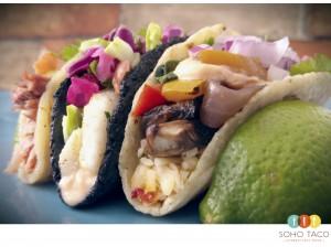 SOHO TACO Gourmet Taco Truck - Los Angeles - Chilean Sea Bass - Veggie Taco