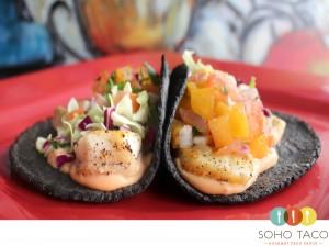SOHO TACO Gourmet Taco Truck - Orange County - OC - Chilean Sea Bass - Huitlacoche